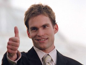 Seann William Scott as Stifler in American Wedding.