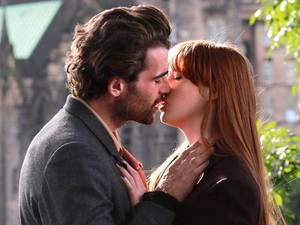 Karen Gillan, Stanley Weber in Not Another Happy Ending