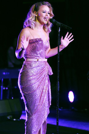 Kimberley Walsh performs at Variety The Children's Charity Dinner at The Dorchester on September 28, 2013 in London, England. (Photo by Dave J Hogan/Getty Images)