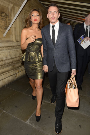 Myleene Klass Classic Brit Awards 2013 held at the Royal Albert Hall - Arrivals