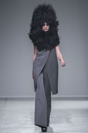 Gareth Pugh show, Spring Summer 2014, Paris Fashion Week, France - 25 Sep 2013