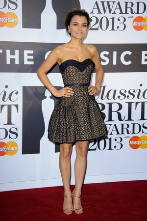 Classic Brit Awards 2013 held at the Royal Albert Hall Samantha Barks