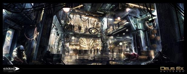 Deus Ex: Universe concept art