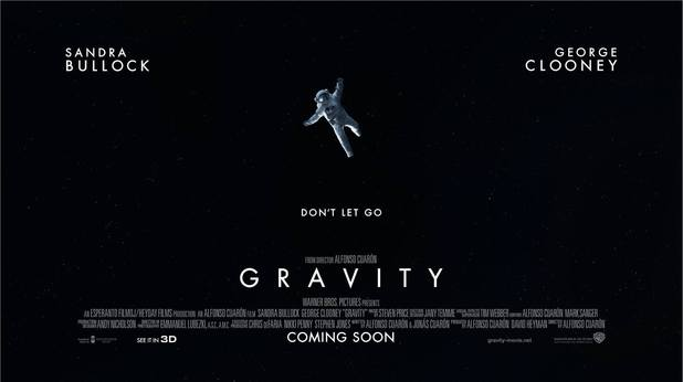 Gravity poster Don't Let Go