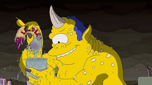 'The 7th Voyage Of Sinbad' referenced in Guillermo del Toro's opening sequence to 'The Simpsons'