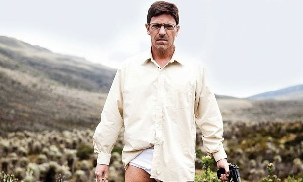 Diego Trujillo in 'Breaking Bad' remake 'Metástasis'.