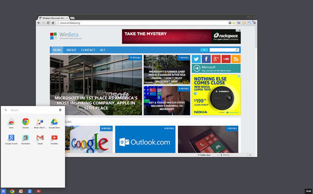 Google Chrome OS for Windows 8
