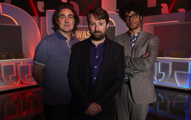 Micky Flanagan, David Mitchell and Richard Ayoade on 'Was It Something I said'