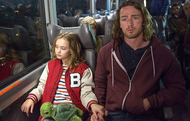 Johnny Sequoyah as Bo & Jake McLaughlin as Tate in 'Believe'