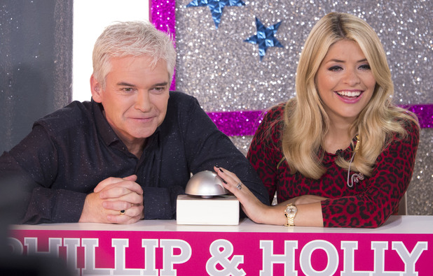 Phillip Schofield and Holly Willoughby during the 25th anniversary show of 'This Morning'