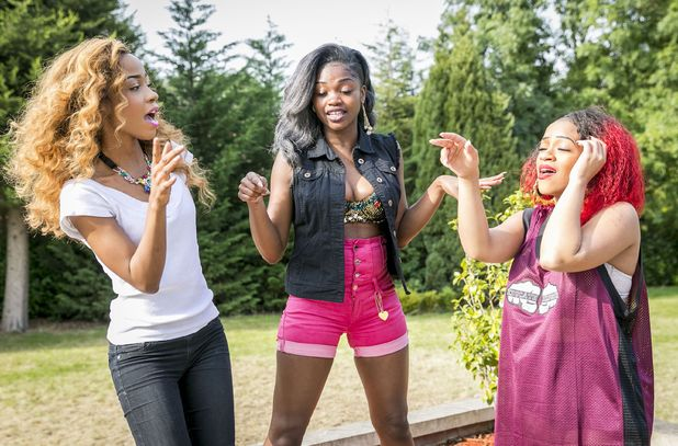 X Factor: Miss Dynamix haven't wasted any time in rehearsing.