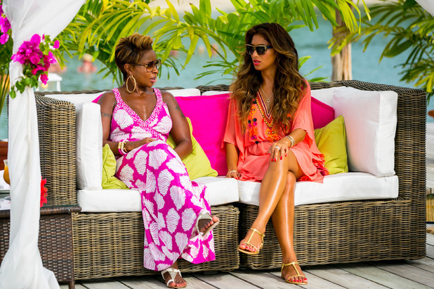 'The X Factor' judges houses: Nicole Scherzinger and guest judge Mary J. Blige