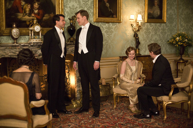 Lord Gillingham, Sir John Bullock and Lady Edith