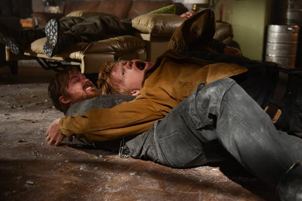 Jesse Pinkman (Aaron Paul) and Todd (Jesse Plemons)