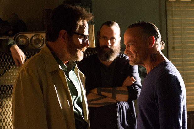 Breaking Bad S05E16 - 'Felina': Walter White (Bryan Cranston) and Uncle Jack (Michael Bowen)