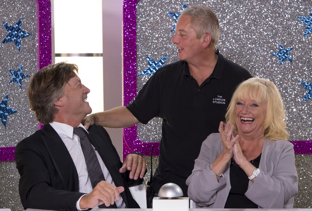 Richard and Judy during the 25th anniversary show of 'This Morning'