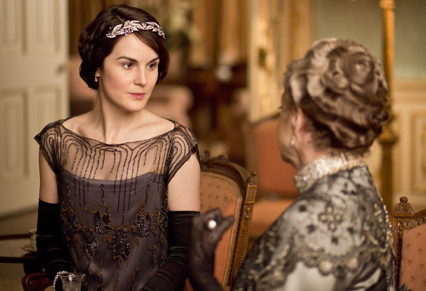 Lady Mary and Violet