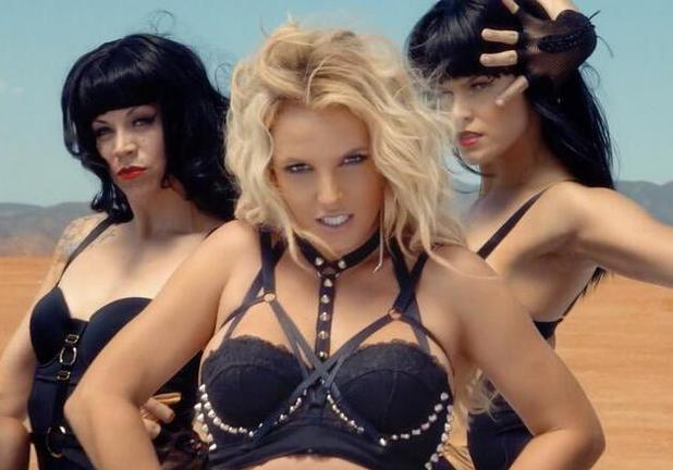 Britney Spears 'Work Bitch' music video