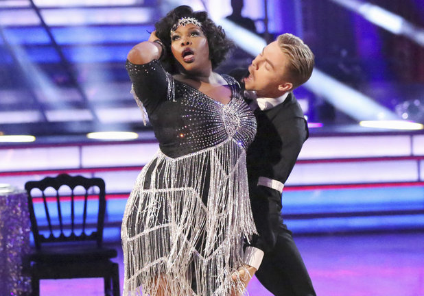 Dancing With The Stars (Fall 2013) episode 3: Amber Riley & Derek Hough