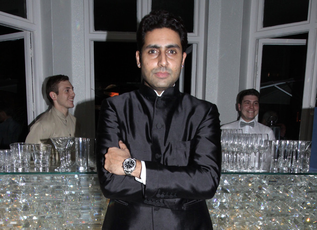 Abhishek Bachchan at the Best of Bollywood themed party, House of St Barnabas, London.
