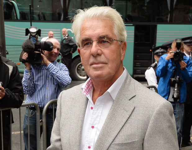 Max Clifford arrives at Southwark Crown Court, October 4, 2013