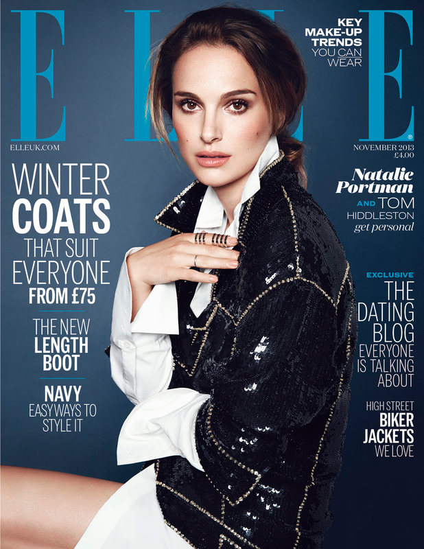 Natalie Portman on the cover of Elle magazine