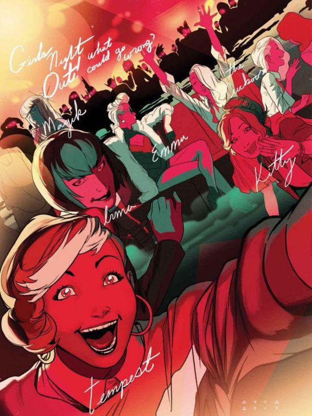 Uncanny X-Men #15 artwork