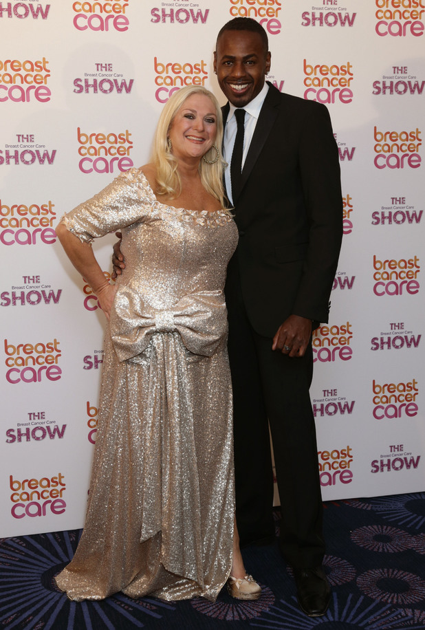 Vanessa Feltz and Ben Ofoedu