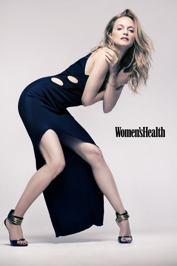 Heather Graham in Women's Health.