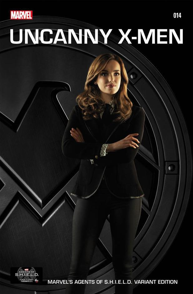 Agents of Shield Cover Agents of Shield Uncanny x