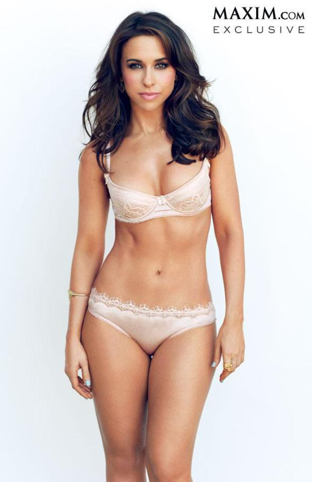 Lacey Chabert strips off for Maxim