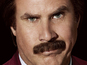 Ron Burgundy for 'Conan' interview