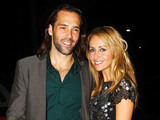 Samia Ghadie and Sylvain Longchambon attend a dinner in honour of actor, Bill Tarmey