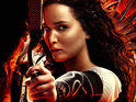 Jennifer Lawrence The Hunger Games Catching Fire poster