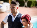 The 39-year-old 'Candy' singer assists Sharon Osbourne for Judges' Houses.