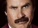 Will Ferrell will appear on Conan O'Brien's chat show in his Ron Burgundy persona.