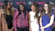 Nicole Scherzinger and the The X Factor girls