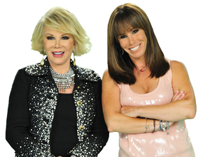 Joan Rivers and Melissa Rivers
