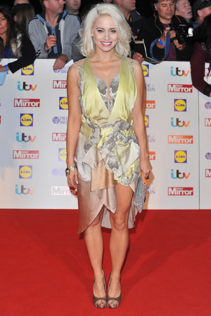 Kimberly Wyatt arriving at the 2013 Pride of Britain awards at Grosvenor House, London.