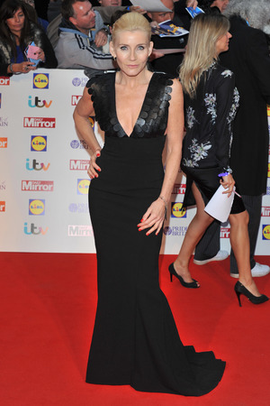 Michelle Collins arriving at the 2013 Pride of Britain awards at Grosvenor House, London.