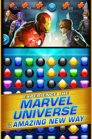 'Marvel Puzzle Quest: Dark Reign' screenshot