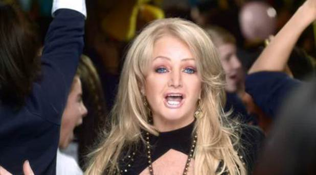 Bonnie Tyler appears in Children in Need 2013 promotional trailers.