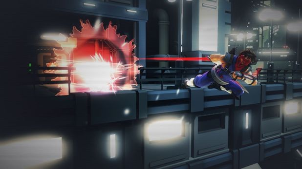 Strider game screenshot