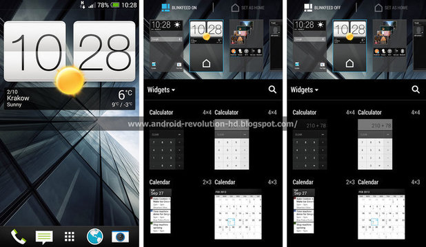 HTC Sense 5.5 leaked screenshot