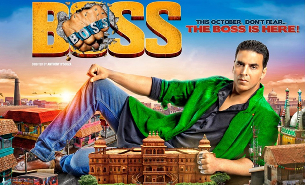 'Boss' movie poster