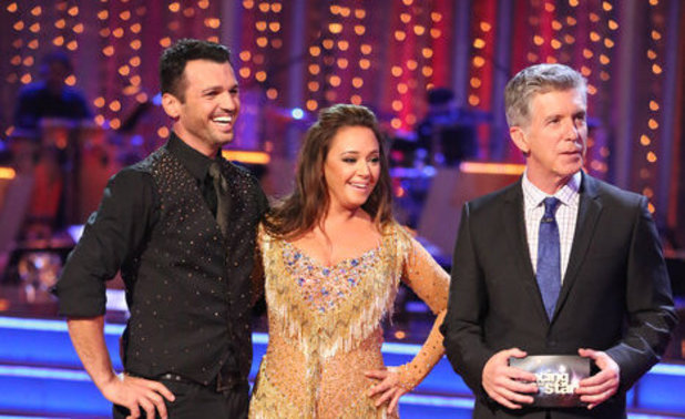 Dancing With The Stars (Fall 2013) episode 4: Leah Remini and Tony Dovolani