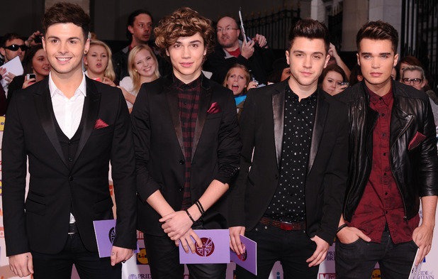 Union J at the Pride of Britain awards