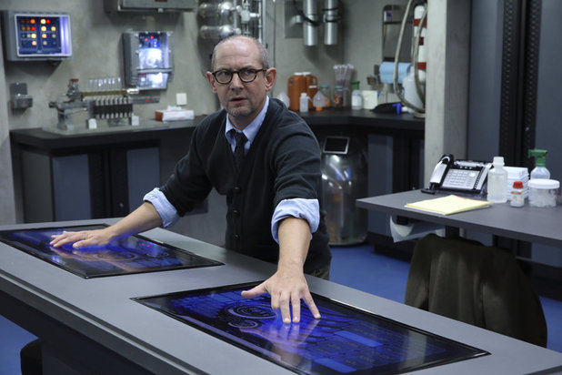 Ian Hart as Dr. Franklin Hall in 'Agents of SHIELD' S01E03: 'The Asset'