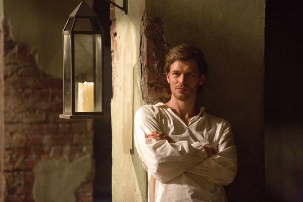Joseph Morgan as Klaus in 'The Originals' S01E02: 'House of the Rising Son'