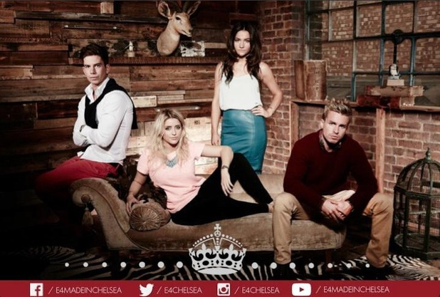 New 'Made in Chelsea' cast members Belle, Tiffany, Freddie and Miffy.
